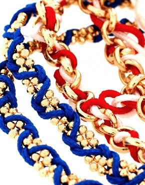 Image 4 ofASOS Nautical Friendship Bracelet Pack