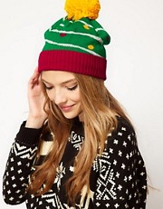 ASOS Christmas Tree Pom Beanie