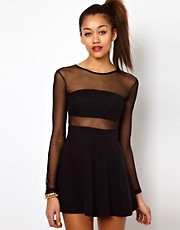 Motel Valeria Skater Dress