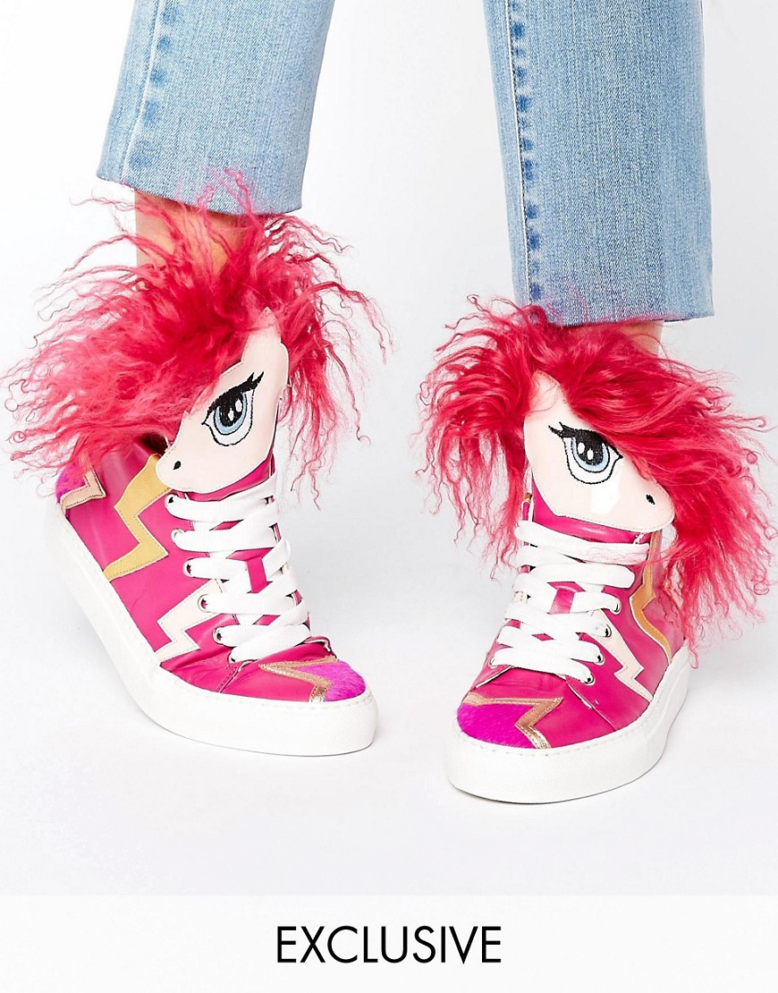 minna-parikka-aero-pink-unicorn-hi-top-trainers-multi
