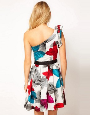 Image 2 ofMiss Sixty Faith Print Skater Dress