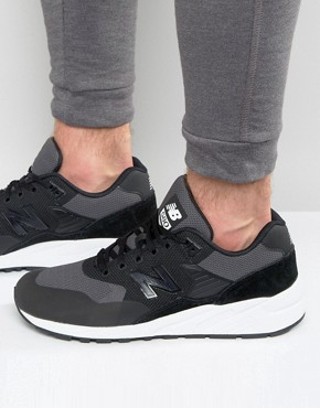 New Balance 580 Trainers In Black MRT580JB
