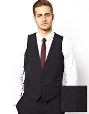 ASOS Waistcoat in Navy