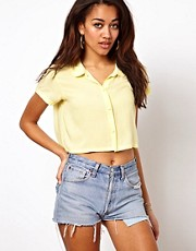 Motel Crop Blouse