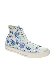 Converse All Star Floral High Top Trainers
