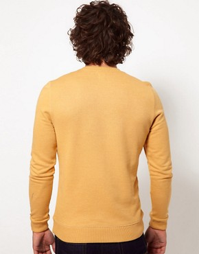 Image 2 ofASOS Sweatshirt With Crew Neck