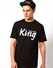 SSUR T-Shirt With New York King Print