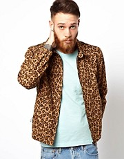 YMC Jacket with Leopard Print