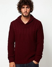 ASOS Shawl Collar Jumper