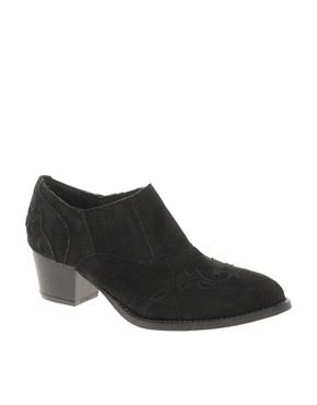 Image 1 of ASOS MOUNTAIN Suede Western Shoes