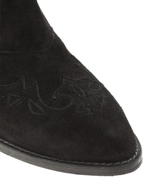 Image 3 of ASOS MOUNTAIN Suede Western Shoes