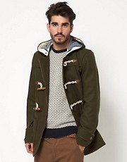 ASOS Duffle Coat In Wool
