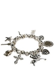 Bibi Bijoux  Hexagon Bracelet with Charms