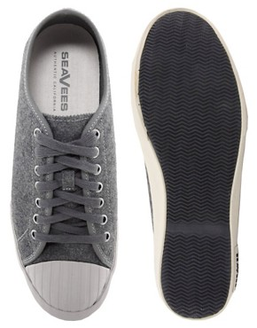 Image 3 ofSeaVees Army Issue Flannel Plimsolls