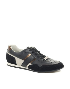 Image 1 ofPaul Smith Jeans Broderick Leather Trainers