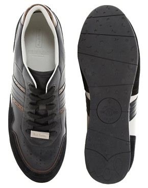 Image 3 ofPaul Smith Jeans Broderick Leather Trainers