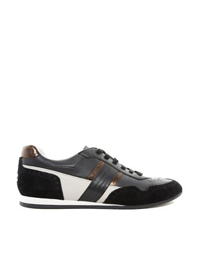 Image 4 ofPaul Smith Jeans Broderick Leather Trainers