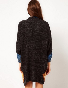 Image 2 ofVero Moda Chunky Patterned Knit Cardigan