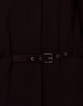 Image 3 ofVanessa Bruno Ath Coat with Belt Detail