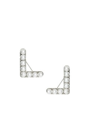 Image 4 ofASOS Pearl Collar Brooches
