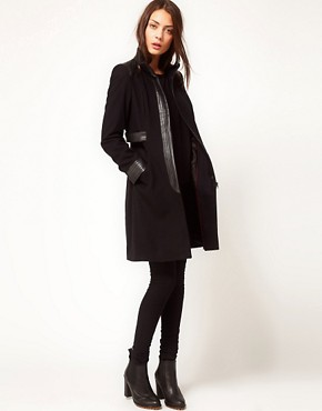 Image 4 ofWhistles Floretta Coat