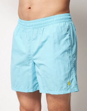 Image 1 ofPolo Ralph Lauren Hawaiian Swim Shorts