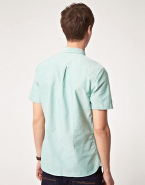 Image 2 ofASOS Oxford Short Sleeve Shirt