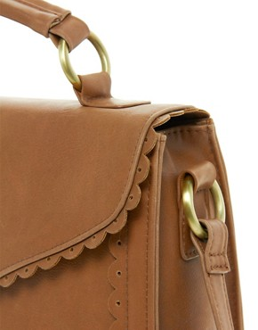 Image 4 ofASOS Scallop Edge Satchel