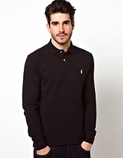 Polo Ralph Lauren Polo in Slim Fit with Long Sleeves