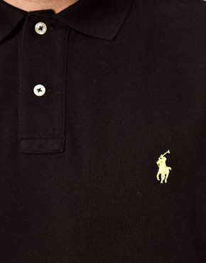 Image 3 ofPolo Ralph Lauren Polo in Slim Fit with Long Sleeves