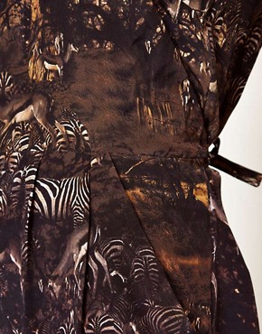 Image 3 of Edun Safari Print Jumpsuit