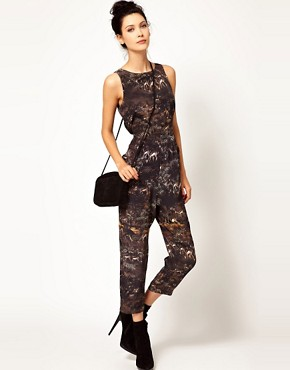 Image 4 of Edun Safari Print Jumpsuit