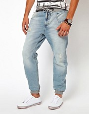 River Island Denim Sweat Pants