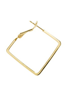 Image 3 ofLimited Edition Square Hoop