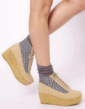 Image 3 ofASOS ALL ABOARD Flatform Ankle Boots