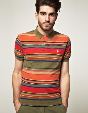 Image 1 ofPolo Ralph Lauren Multi Stripe Polo