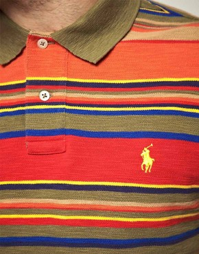 Image 3 ofPolo Ralph Lauren Multi Stripe Polo