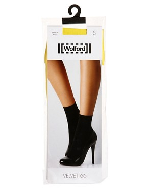 Image 3 ofWolford Velvet 66 Socks