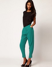 ASOS Pants With Ankle Zip Cuffs
