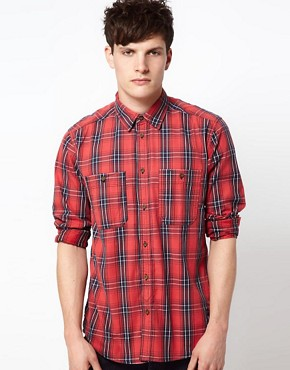 Image 1 ofJack &amp; Jones Check Shirt