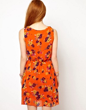 Image 2 ofThe Style Floral Dress With Drape Neck