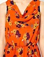 Image 3 ofThe Style Floral Dress With Drape Neck