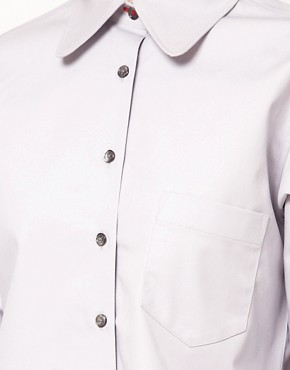 Image 3 ofASOS Coated Cotton Shirt