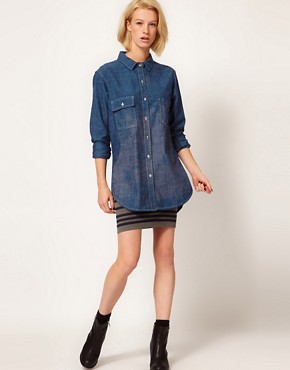 Image 4 ofRag And Bone/JEAN Denim Shirt