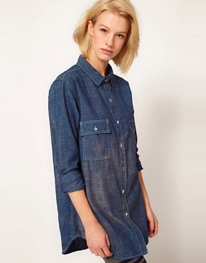 Image 1 ofRag And Bone/JEAN Denim Shirt