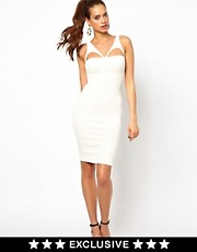 Oh My Love Harness Midi Bodycon Dress