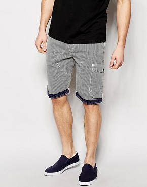 Ringspun Stripe Short