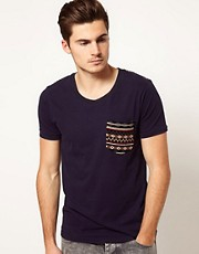 Voi T-Shirt with Aztec Detail