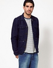 Nudie Jacket Ricco Denim Worker