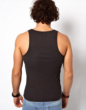 Image 2 ofASOS Rib Vest